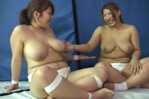 GIRLS FIGHT 106 スモウレボリューション!MEGAZUMO3豊満爆乳美女が裸にまわしを食い込みガチ女相撲